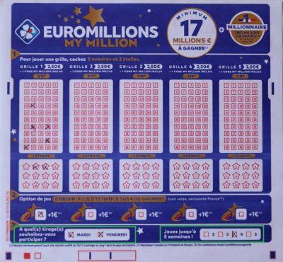comment jouer à l'euromillion